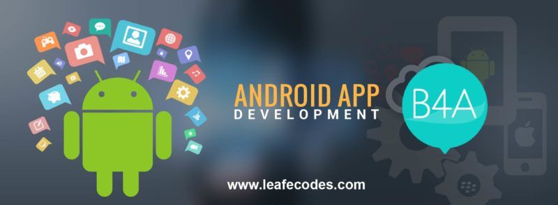 b4a installation for android development